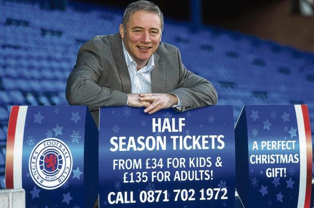 Ally McCoist has been surprised by  the ill-feeling shown towards Rangers