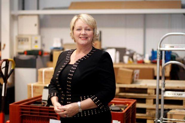 GOING IT ALONE: Jean Laughlin took over the business when her predecessor retired, and had to build a new team almost from scratch. Picture: Mark Mainz