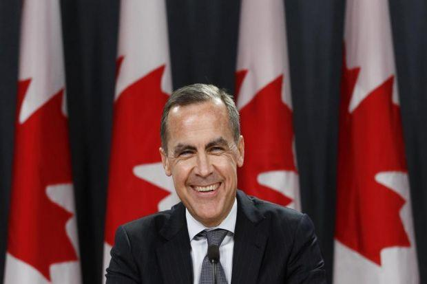 HOT SEAT: Mark Carney is the new governor of the Bank of England despite previously saying he would never take the job. Picture: Reuters