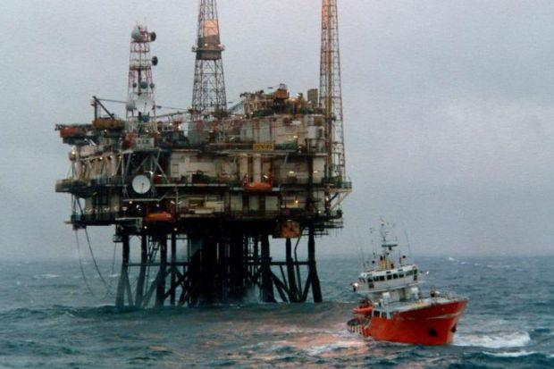 RIGGED FOR SUCCESS: A Scottish Enterprise report has identified 86 new oil fields on the UK Continental Shelf.