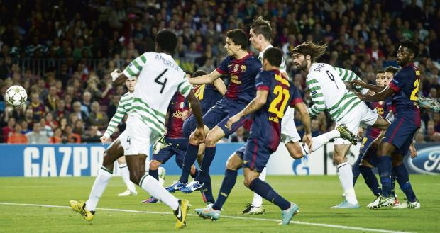 Georgios Samaras has scored five times in the Champions League but only once domestically