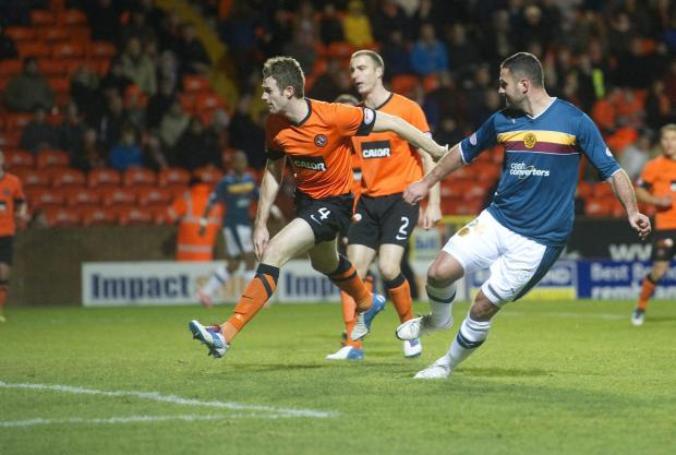 Michael Higdon flicks in the opening goal