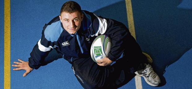 Duncan Weir has spent two months on the sidelines after injuring a knee playing kick-tennis with a few of his Glasgow team-mates. Picture: SNS