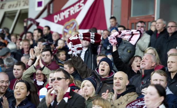 The Hearts fans have already rallied to help their club