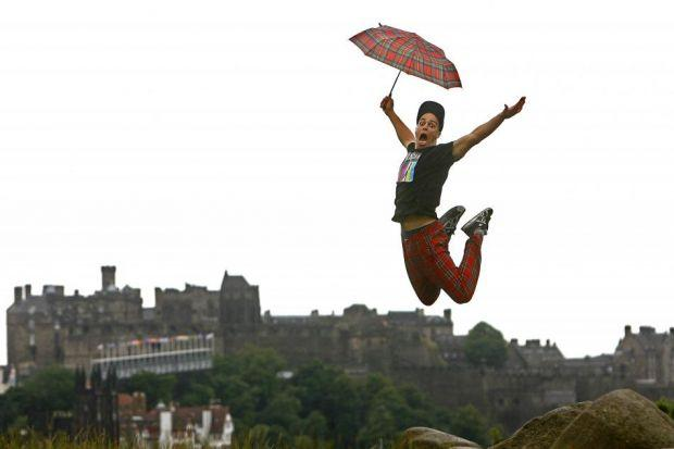 REFORM: Sir Sandy Crombie will lead the changes at Scotland's main arts funding  body. happy LANDINGS:  Switch in priorities  for funding should benefit organisations such as Edinburgh Festival Fringe.  Picture: Gordon Terris