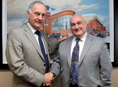 Rangers appoint Jim Traynor as PR supremo