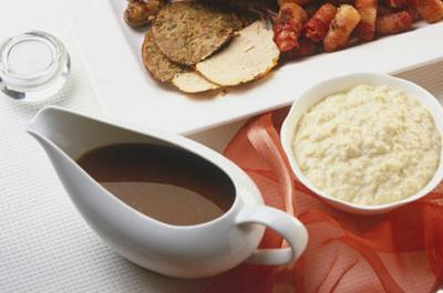 Make your gravy in advance to avoid rushing around on Christmas day