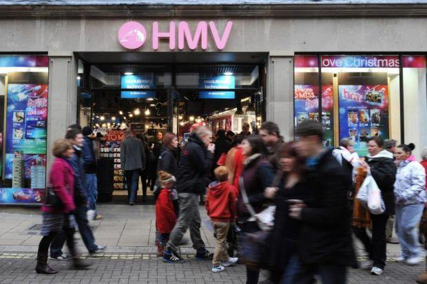 gloom: HMV has struggled in declining music and DVD markets.
