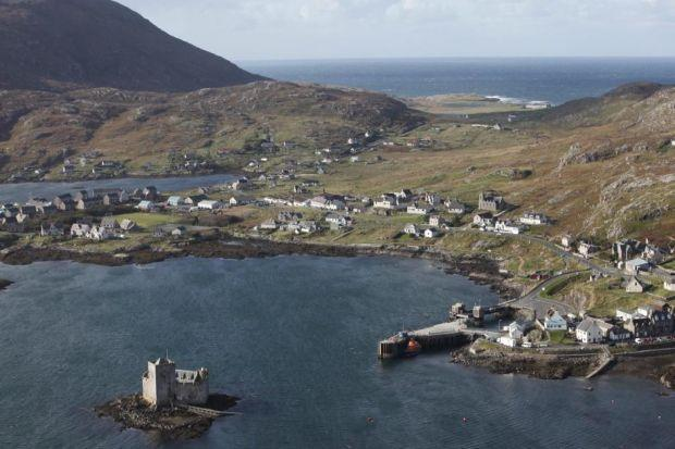 SCENIC: Castlebay on the island of Barra.