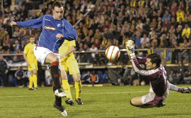 Kris Boyd's failure to convert a glorious chance prevented Rangers advancing beyond the last 16