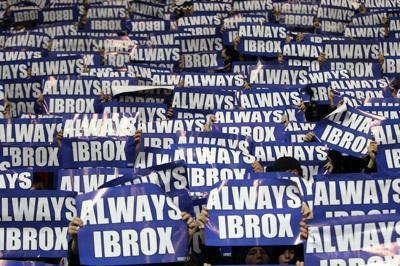 Fans protest about Ibrox naming rights sale