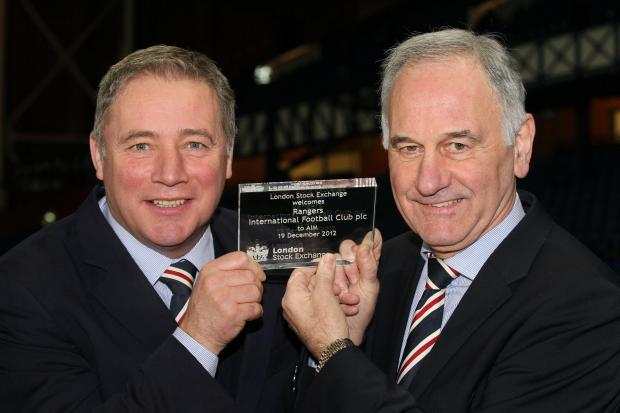 Charles Green expects the value of Rangers to soar over the ne