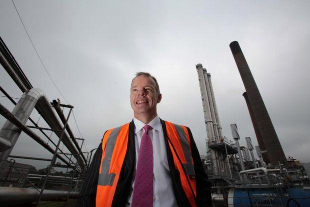 PAYOUT: Chief executive Chris Parr's pay jumped 26%, but said senior staff salaries had been frozen. Picture: Steve Cox