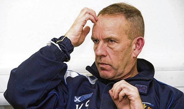 Kenny Shiels has adopted a more withdrawn approach