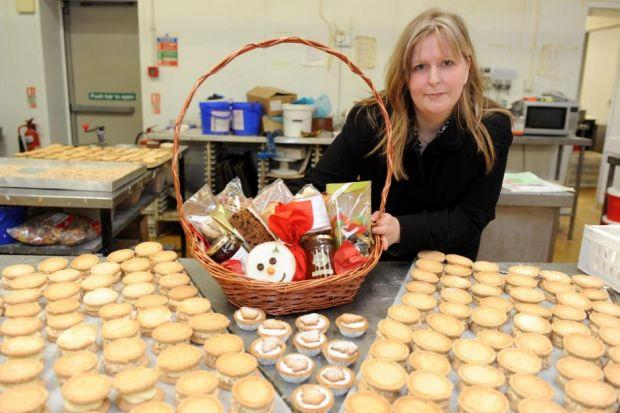SWEET BUSINESS: Claire Bradford is the third generation of her family in the bakery business, and hopes her children will one day take over the firm. Picture: James Galloway