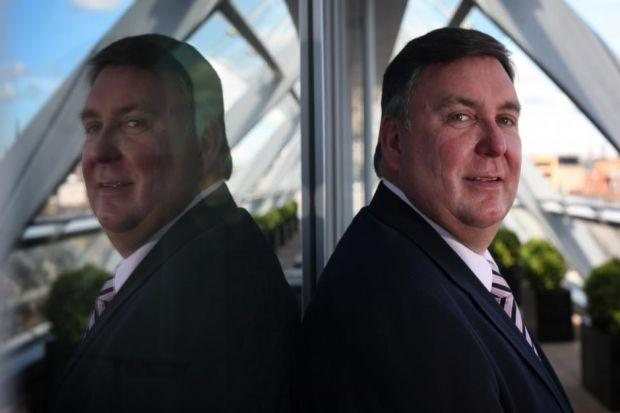 AWARD WINNER: BSW boss Tony Hackney was named Scottish Entreprene