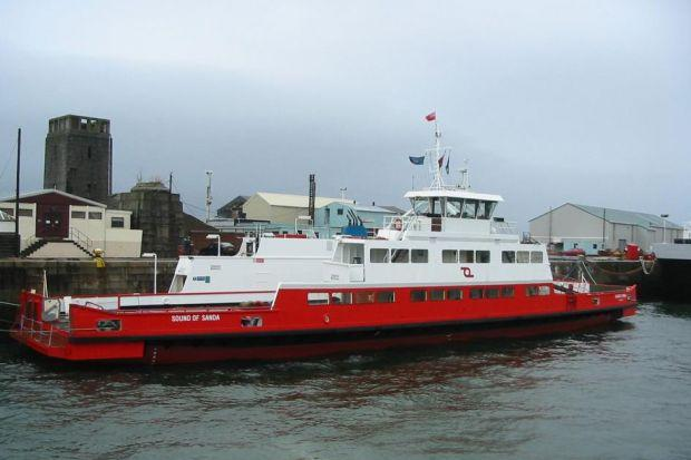 CROSSING: Managing director Gordon Ross said Western Ferries (Clyde) will introduce two new vessels next year.