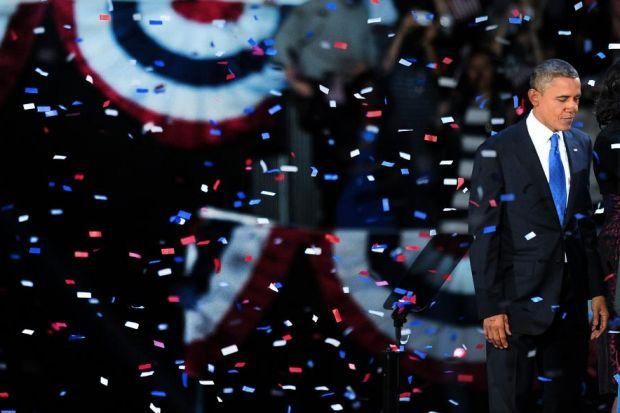 President Barack Obama held on to win a second term in the White House