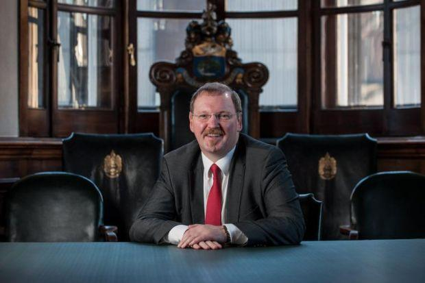 POSITIVE OUTLOOK: Glasgow Chamber of Commerce chief executive Stuart Patrick. Picture: John Young