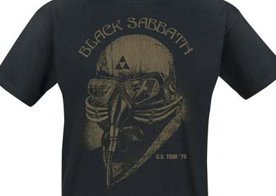 Black Sabbath US Tour 78 t-shirt