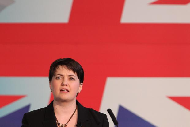 MESSAGE: Scottish Tory leader Ruth Davidson wants the Scottish Government to work in partnership with Westminster. Picture: Stewart Attwood