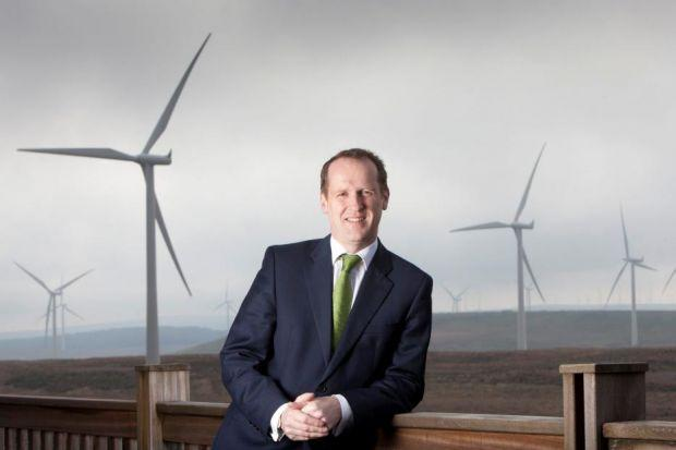 WINDS OF CHANGE:  Keith Anderson, who also heads up ScottishPower Renewables, warned a lack of clarity has brought investment in power plant developments to a halt. Picture:  Chris James