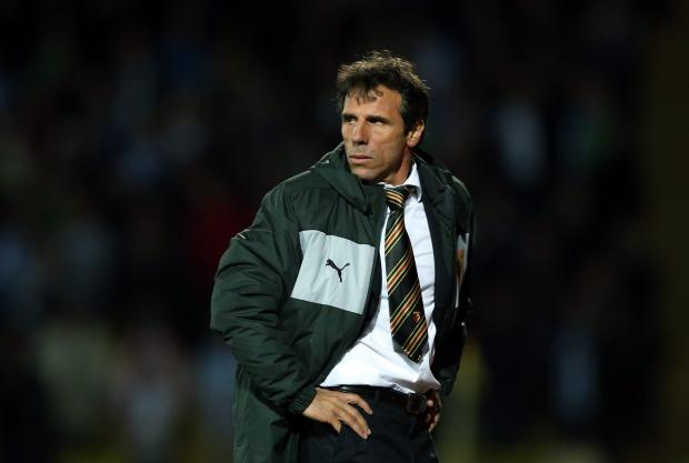 Gianfranco Zola insists that Watford are the Pozzos' priority