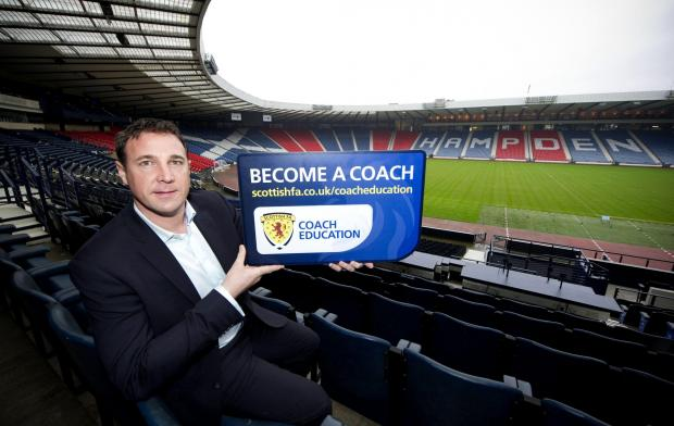 Malky Mackay was speaking at the Scottish FA's UEFA Pro Licence course at Hampden Park yesterday. Visit www.scottishfa.co.uk/coacheducation for information on all coaching courses available.