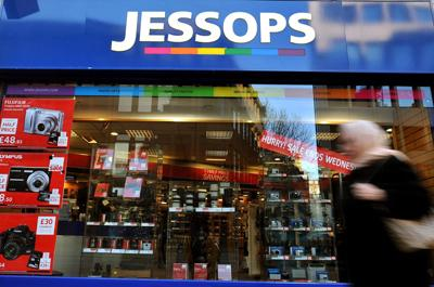 Threat to jobs as Jessops enters administration