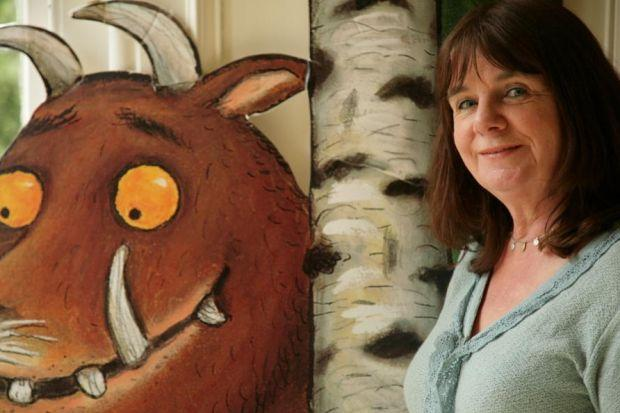 GRUFF RESPONSE: Children's laureate Julia Donaldson, the popular author behind The Gruffalo, has backed the campaign to stop merger plans for Bearsden Primary School.