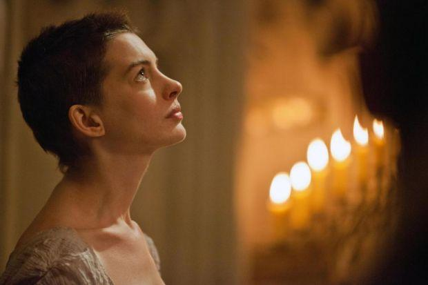 Anne Hathaway's perfect performance as Fantine is the highlight of an otherwise somewhat gruelling Les Miserables