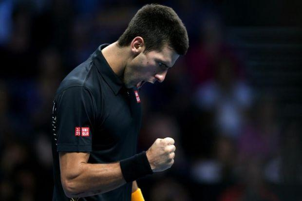 Novak Djokovic feels that last year was even more successful than his extra-ordinary 2011   Photograph: Getty