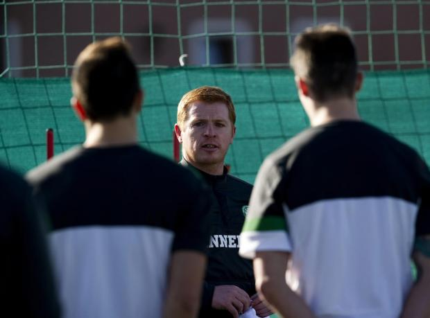 Neil Lennon was among those at the inaugural European Managers and Coaches Forum