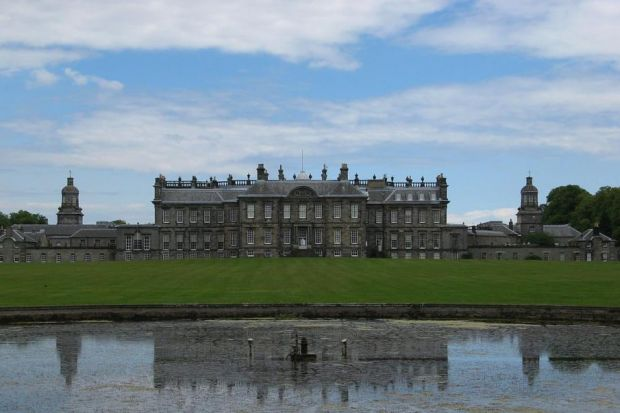 LIABILITY: A night-time bat hunt in the grounds of Hopetoun House turned into disaster after a walker fell down a ha-ha ditch.