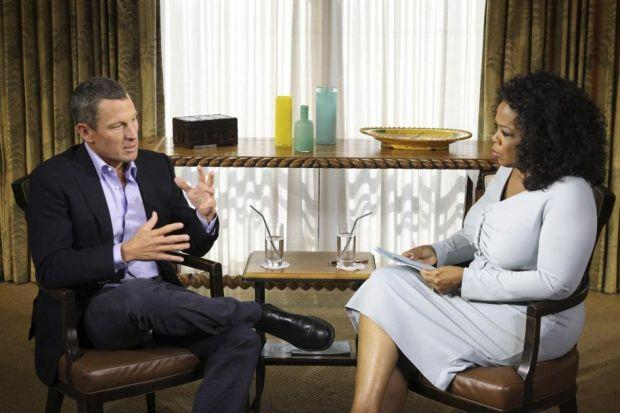 ADMISSION: Lance Armstrong's interview with Oprah Winfrey provoked reaction from cycling figures including, from far left, Sir Chris Hoy, 2008 Olympic road race champion Nicole Cooke and Brian Cookson, president of British Cycling.