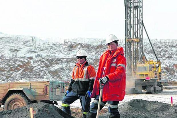 GOLDEN OPPORTUNITIES: Mongolia's economic growth is being driven by the vast Oyu Tolgoi gold mine.