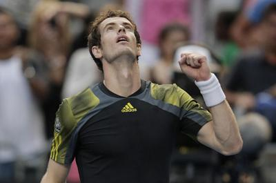 Andy Murray romps into last eight in Melbourne