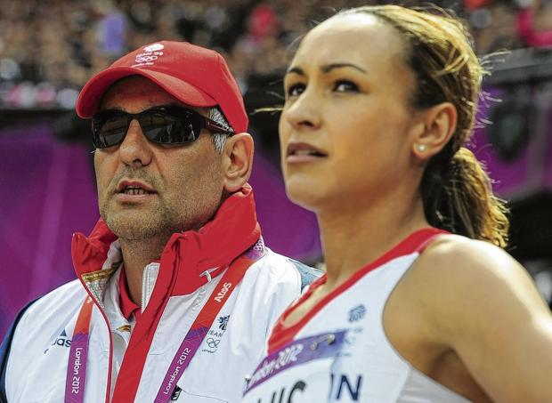 Toni Minichiello has helped Jessica Ennis to medals in every global championship she has contested.  Picture: Stu Forster/Getty Images