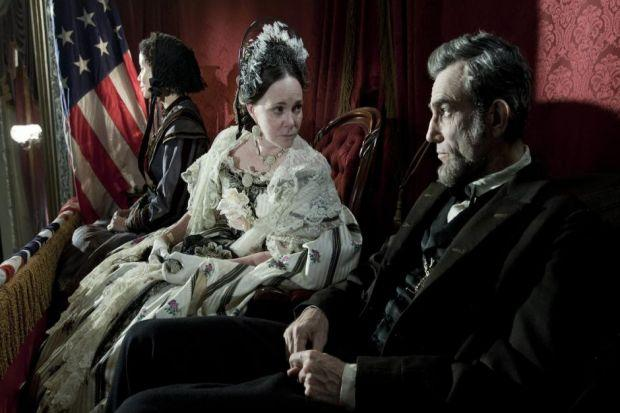 TALL IN THE SADDLE: Daniel Day-Lewis delivers an immense performance in Steven Spielberg's Lincoln.