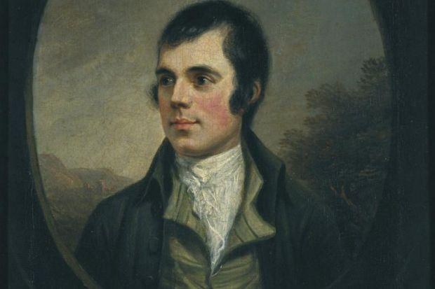 RECIPIENT: The previously unseen letter from Robert Burns was addressed to Elizabeth Kemble, above.