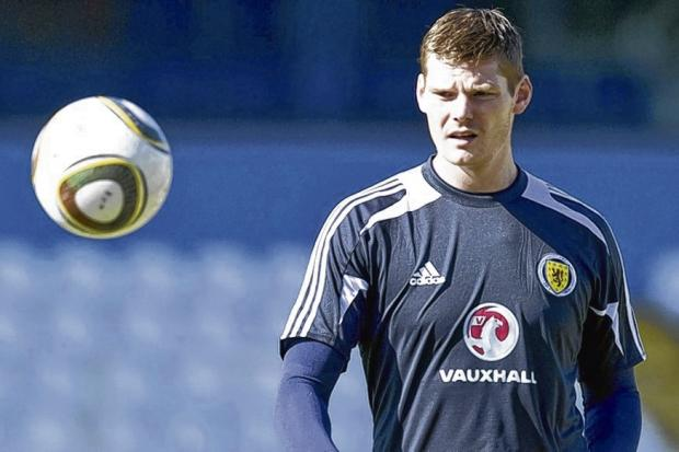 Gary MacKenzie found his way in to a Scotland squad but Craig Levein was reluctant to risk him in a match