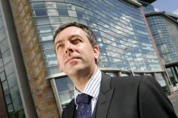LOOKING UP: Airdrie Savings Bank chief executive Rod Ashley said there was the appetite to increase lending.