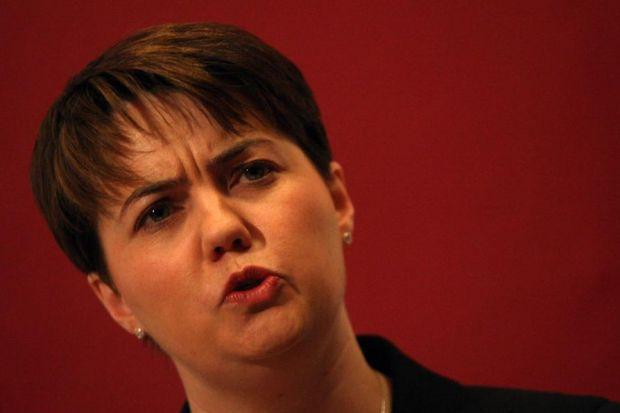 CHANGE: Conservative leader Ruth Davidson advocates more responsibility for Holyrood. Picture: PA