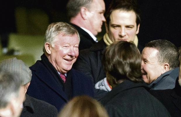 Sir Alex Ferguson was impressed by Celtic in their midweek win over Dundee United and is forging a firm friendship with Neil Lennon