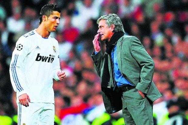 Ronaldo's demands will be influenced by Mourinho's deal Photograph: Getty