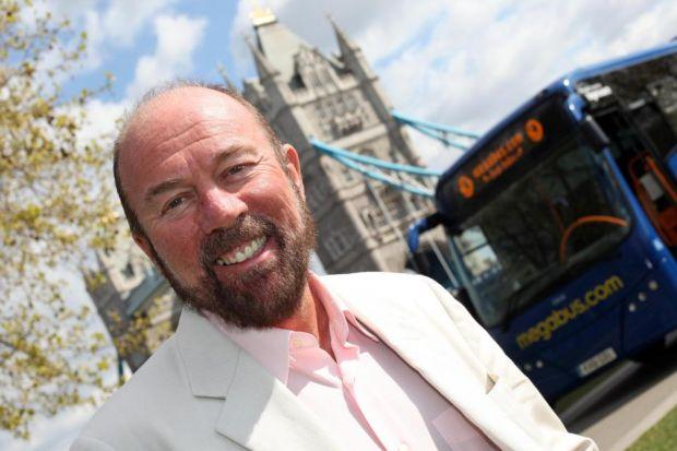 WASTED: Stagecoach, led by Sir Brian Souter, along with the other bidders, were left with bills of up to £10 million.