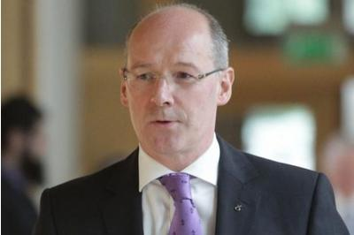 Finance Secretary John Swinney says the new GDP figures show that the Scottish economy has returned to growth