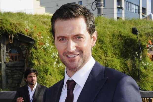 ROYAL ROLE: Researcher Philippa Langley says she has persuaded English actor Richard Armitage to star in a film she has written about Richard III. Main picture: Gordon Terris