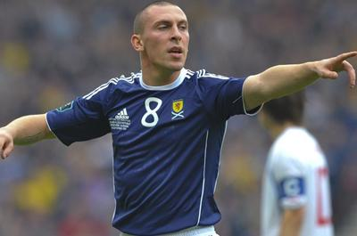 Strachan names Scott Brown as first captain