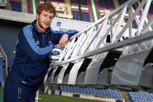 Rob Harley will make his first Scotland start at flanker in Saturday's match against Italy. Picture: SNS